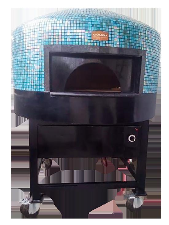 Semi portable brick oven